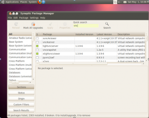 Linux Setup | Remoter: Remote Desktop VNC and RDP